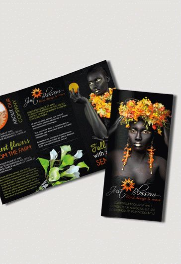 Flower Boutique – Free Business Card Templates PSD
