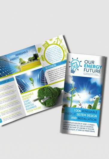 Green Mountain Energy Tri-Fold Brochure