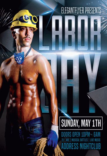 Poster Template for Labor Day