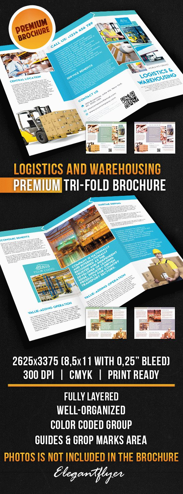 Brochure for Logistics And Warehousing