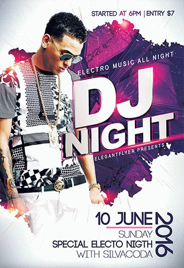 DJ Flyer – Flyer PSD Template