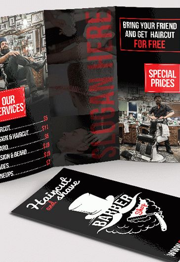 Smallpreview_Barber_Shop_Tri-Fold_Brochure-psd-template