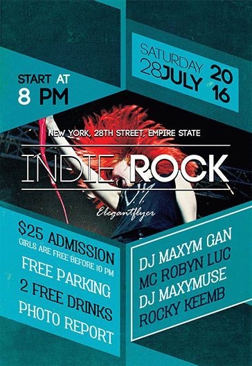 Smallpreview_Indie_Rock_flyer_psd_template_facebook_cover