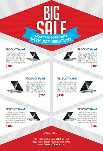 Product Sale – Flyer PSD Template