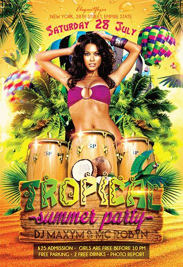 Smallpreview_Tropical_Summer_Party_flyer_psd_template_facebook_cover