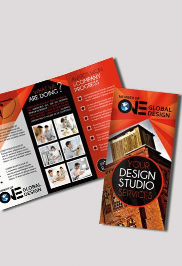 Architectural Tri-Fold Brochure Design