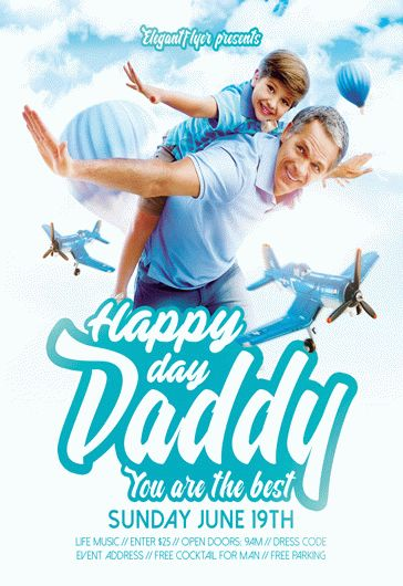 father s day  u2013 flyer psd template  u2013 by elegantflyer