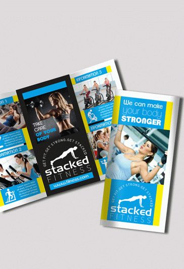 Aerobics Center – Flyer PSD Template + Facebook Cover