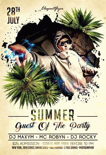 Smallpreview_Summer_Guest_Of_The_Party_flyer_psd_template_facebook_cover