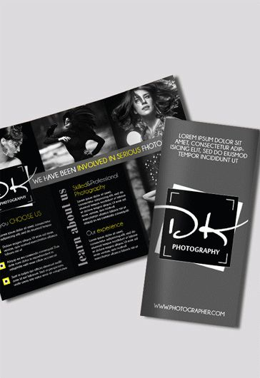 Free Brochure for Photographer