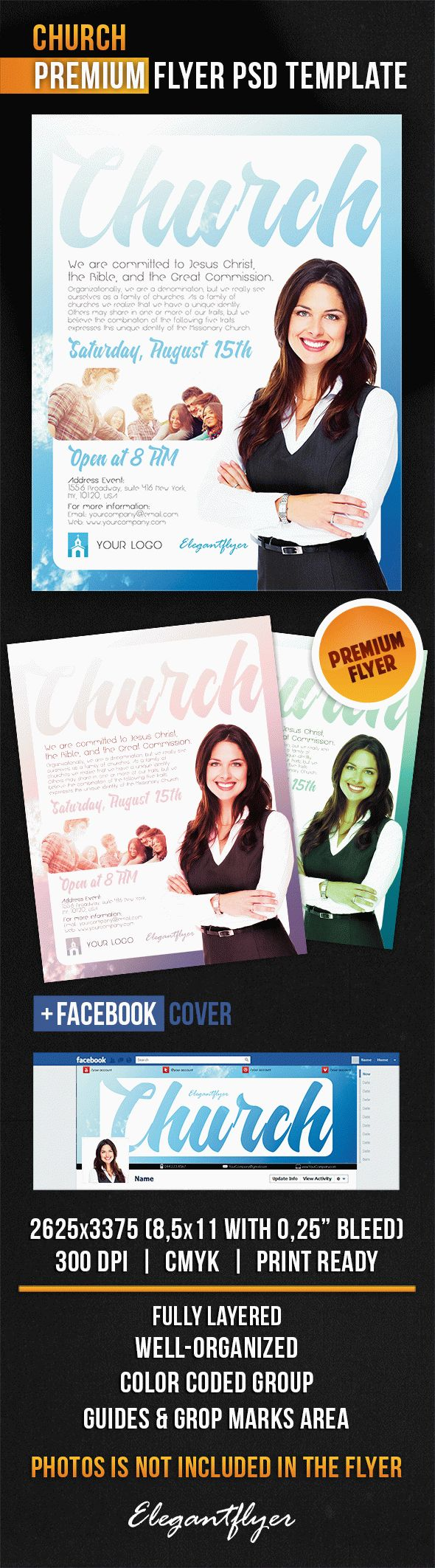 church flyer psd template facebook cover by elegantflyer church flyer psd template facebook cover