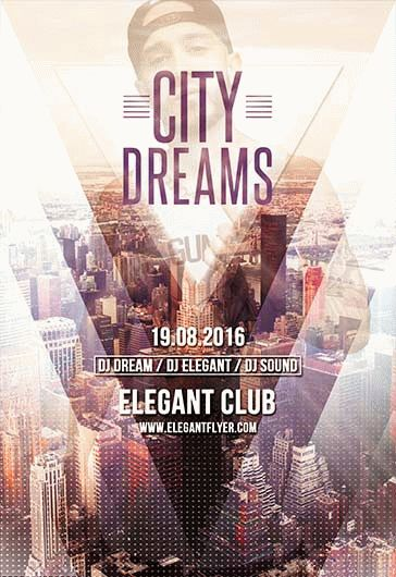 Energy Sound – Premium Club flyer PSD Template