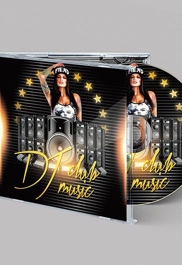 King Music – Free CD Cover PSD Template