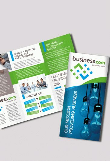 Template for Business Brochure