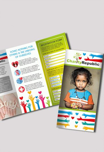 charity brochure template  u2013 by elegantflyer