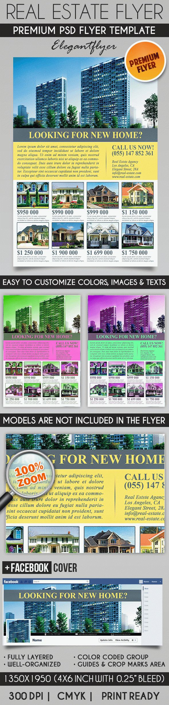 Flyer Template For Real Estate