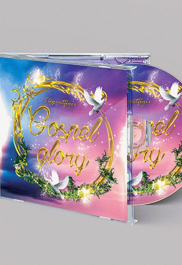 Gospel Glory – Free CD Cover PSD Template