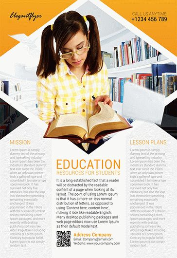 Education – Flyer PSD Template