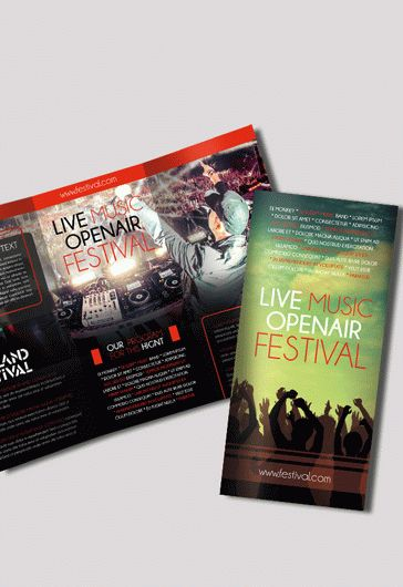 Brochure Design for Music Festival
