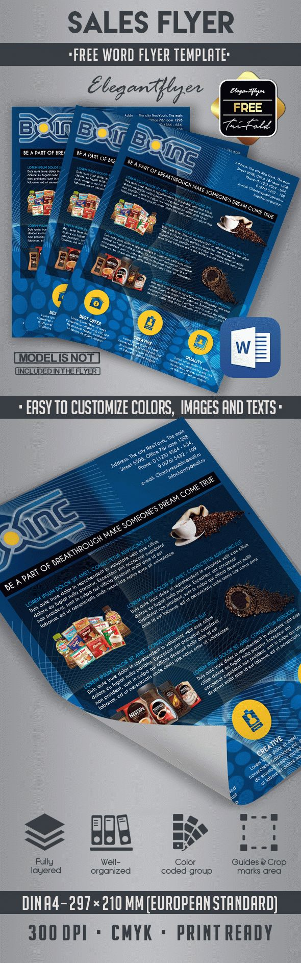 10 best business flyer templates in word by elegantflyer 10 best business flyer templates in word wajeb