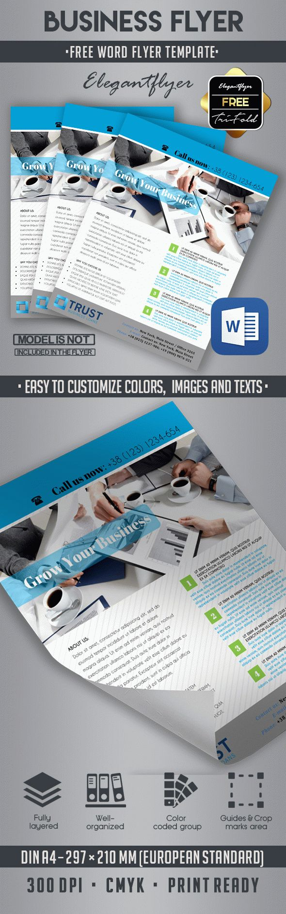 10 best business flyer templates in word by elegantflyer 10 best business flyer templates in word accmission