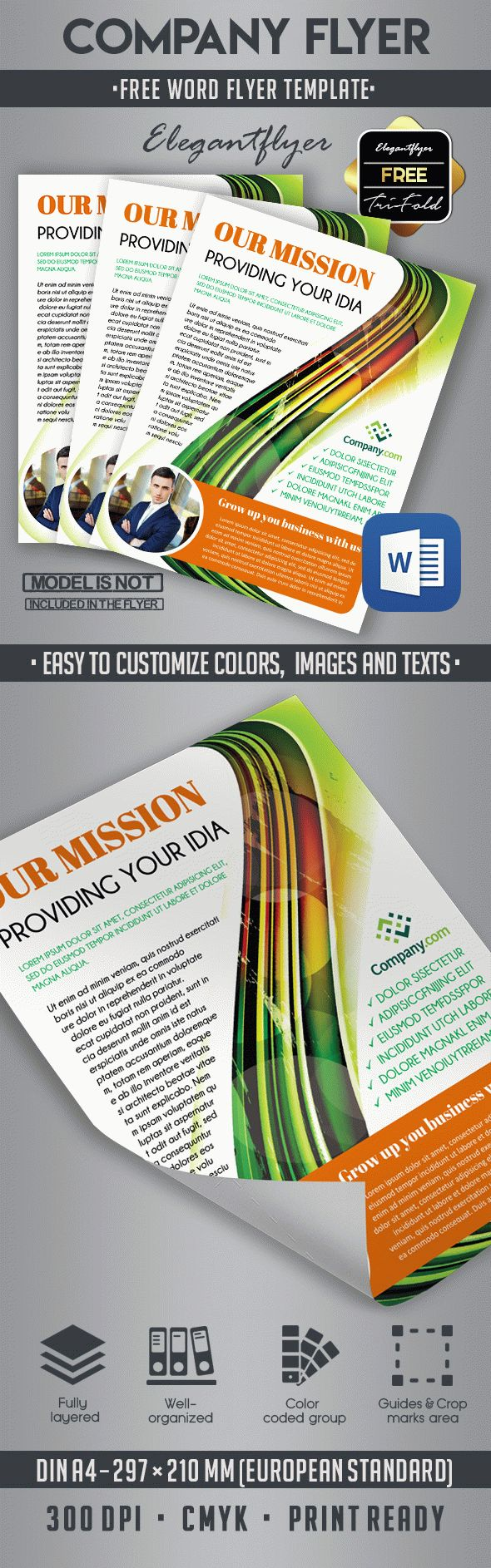 10 Best business flyer templates in Word – Free Word Flyer Template