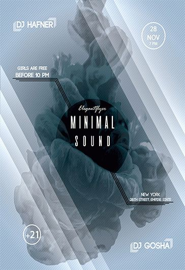 Free Flyer for Minimal Sound