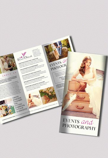 photography brochure templates free - free design brochure for photography by elegantflyer