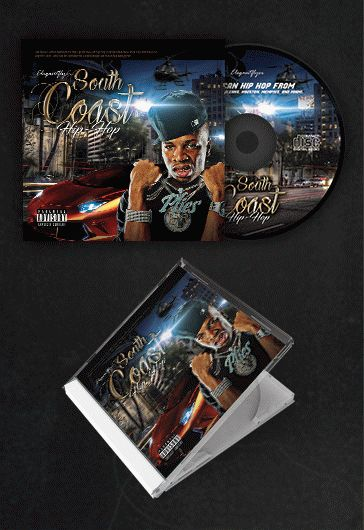 Rap Best Mix – Free CD Cover PSD Template