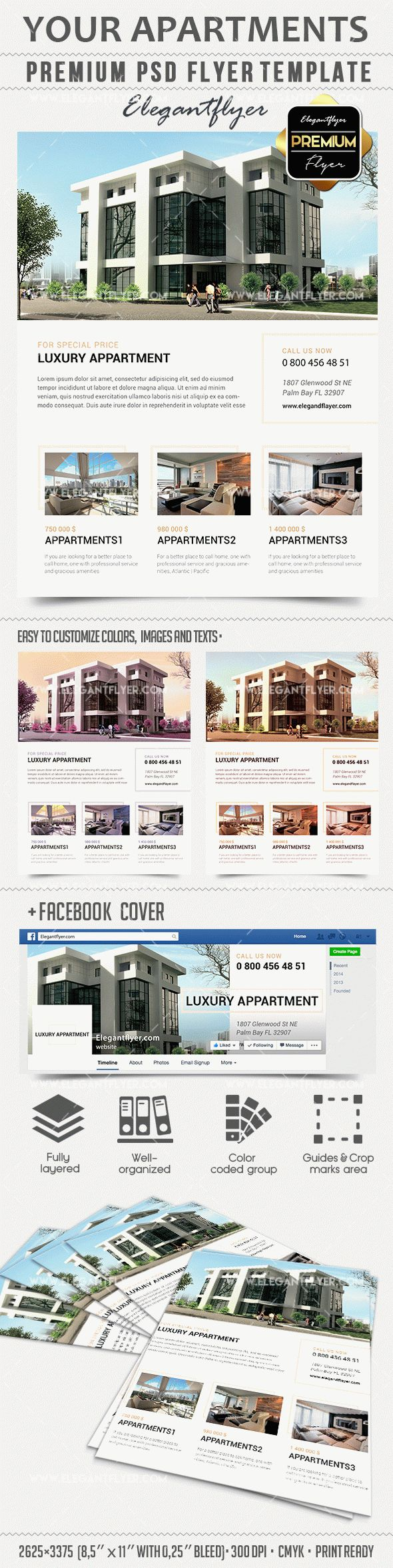 your apartments premium psd template facebook cover by your apartments premium psd template facebook cover