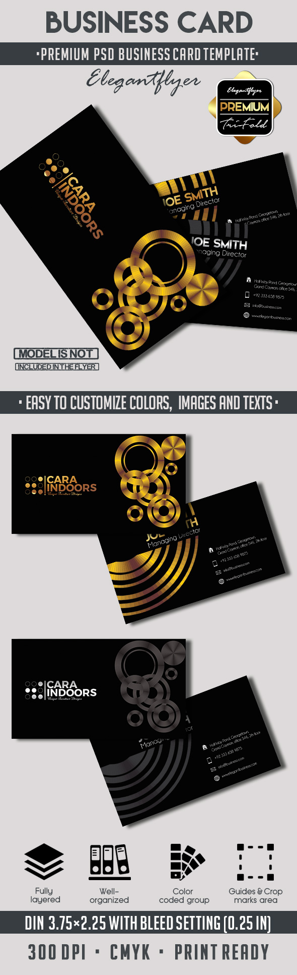 Business card – Premium PSD Template
