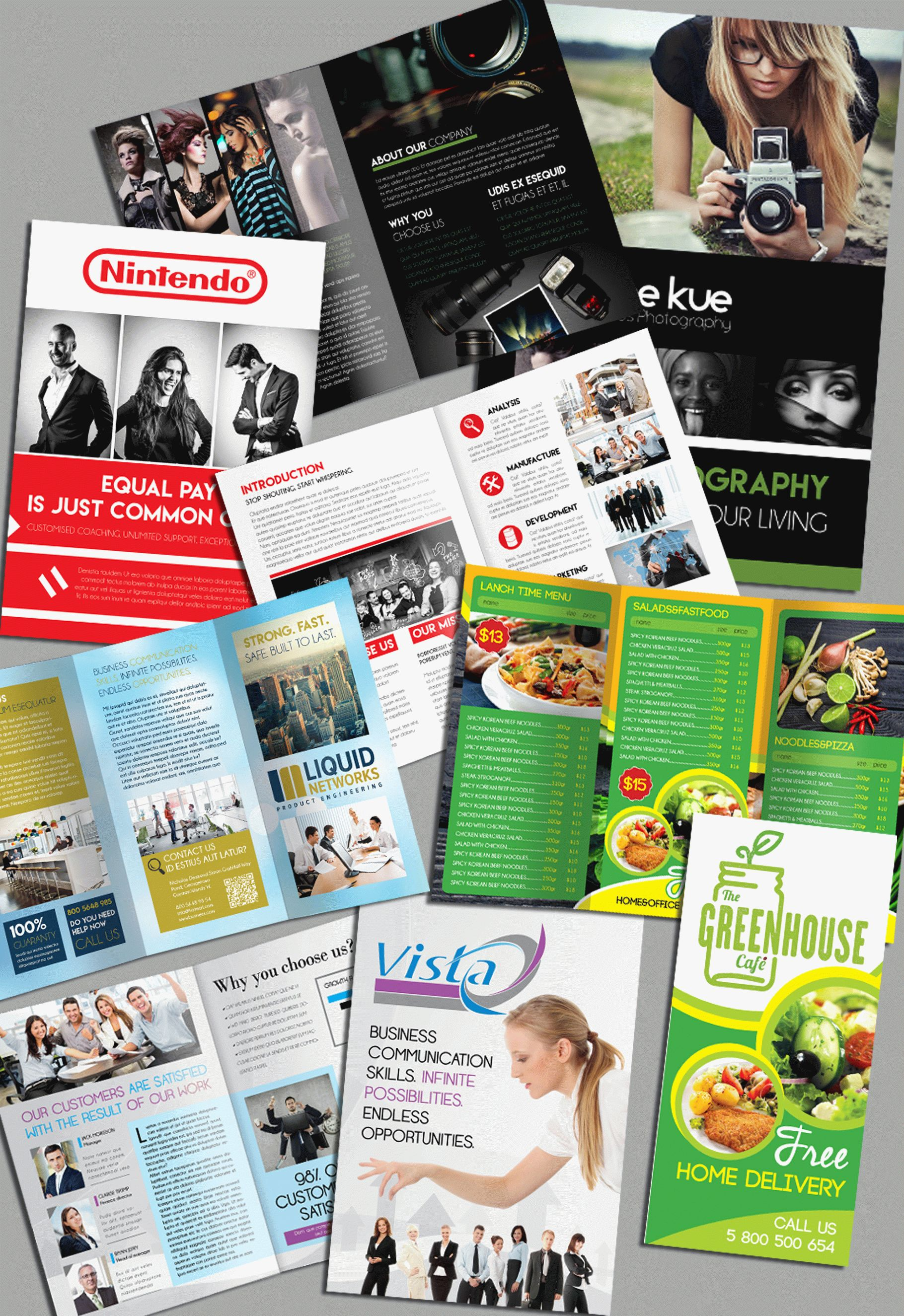 Powerful Free Adobe InDesign Brochures Templates By ElegantFlyer - Brochure templates indesign