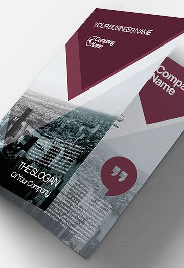 Bi-Fold Brochures for Business Template