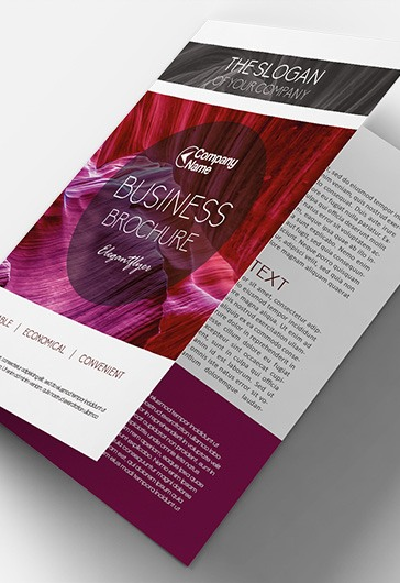 Business V02 – Premium Bi-Fold PSD Brochure Template