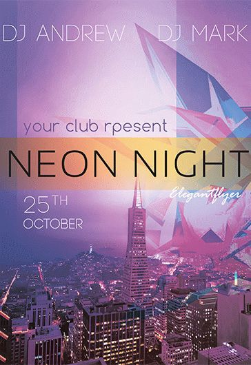 smallpreview_neon_night_flyer_psd_template_facebook_cover_result