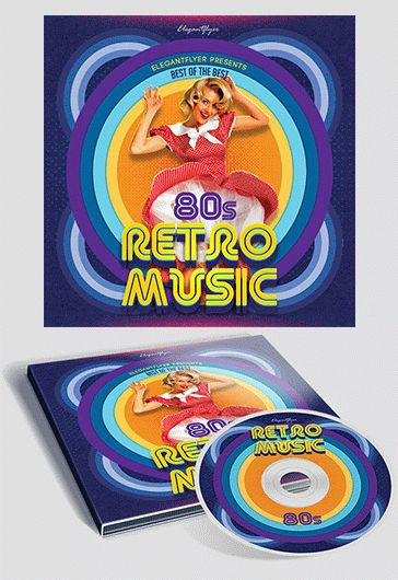 smallpreview_retro_music_cd_cover_psd_template_result