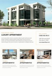 Your Apartments – Premium PSD Template + Facebook cover