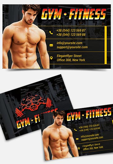 Gym And Fitness – Free Instagram Banner