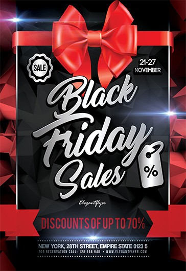 Friday Party – Free Flyer PSD Template