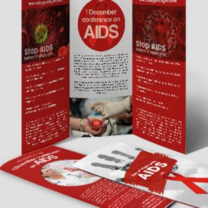 Flyer by elegantflyer for Aids brochure template
