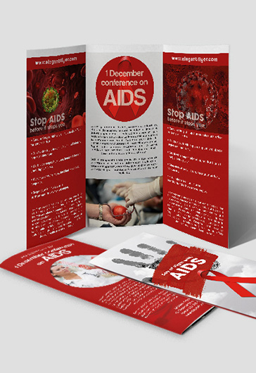 World AIDS Day – Flyer PSD Template