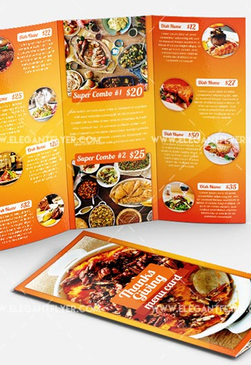 Thanksgiving – Flyer PSD Template