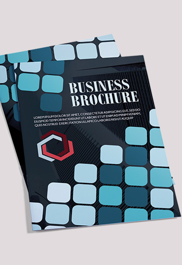The Corporate – Premium Bi-Fold PSD Brochure Template