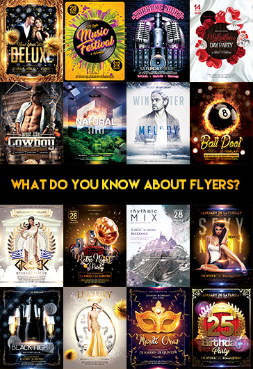 What do you know about flyers?