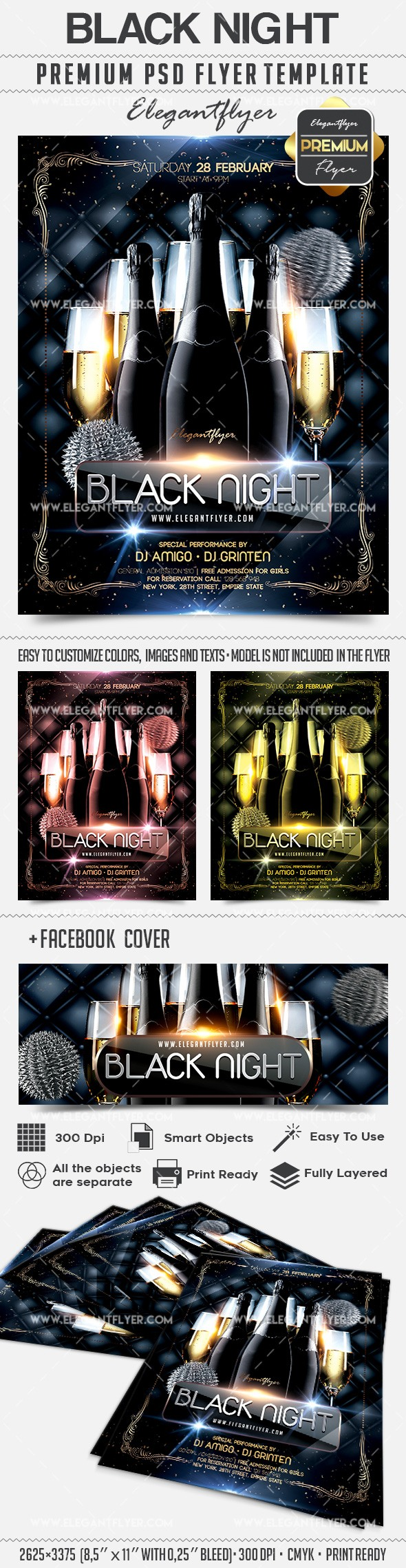 Party for Black Night Champagne
