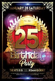Birthday Party V02 – Flyer PSD Template + Facebook Cover