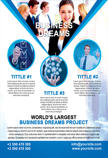 Business Dream – Flyer PSD Template