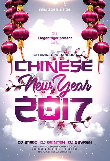 chinese new year 2017  u2013 free flyer psd template  u2013 by