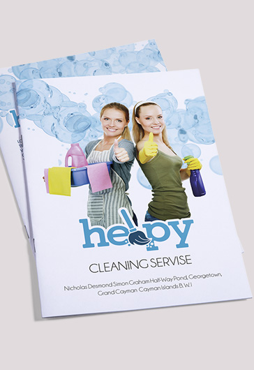 Cleaning Services Bi-Fold Template
