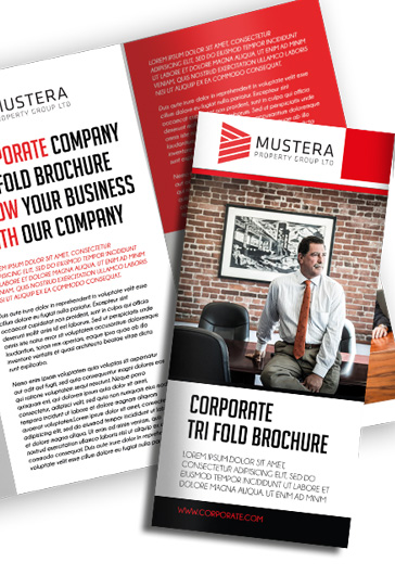 small brochure template - corporate brochure template free by elegantflyer